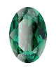 Swarovski 4128 Xilion Oval Fancy Stone 10x8mm Emerald (144 Pieces)
